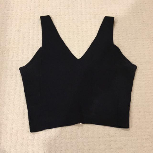 Size M - Tiger Brand Crop Top