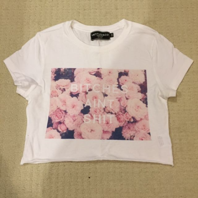 Size M - Untitled & Co Crop Tee