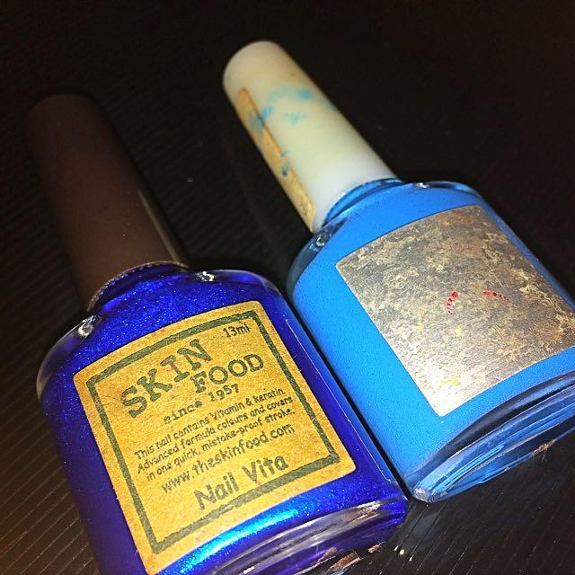 Skin food nail polish