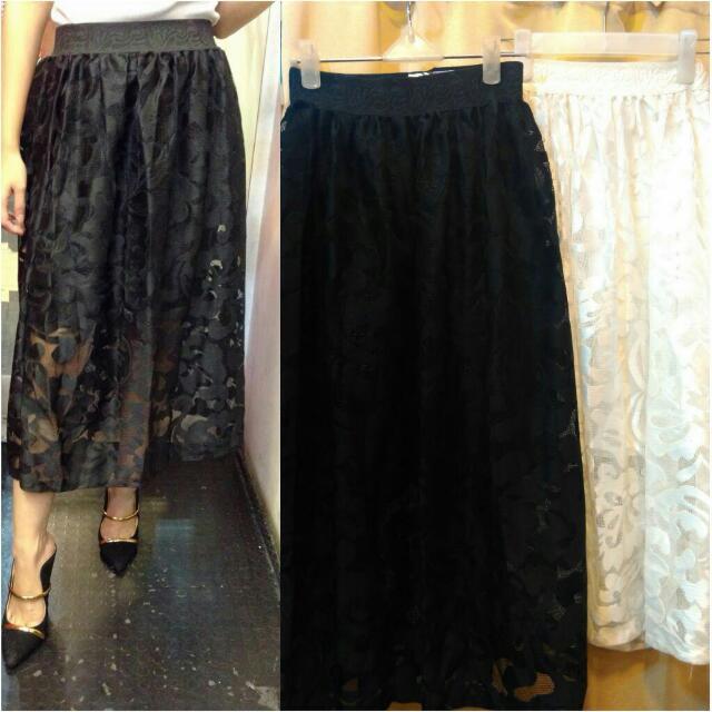 Skirt,Long Skirt,Rok