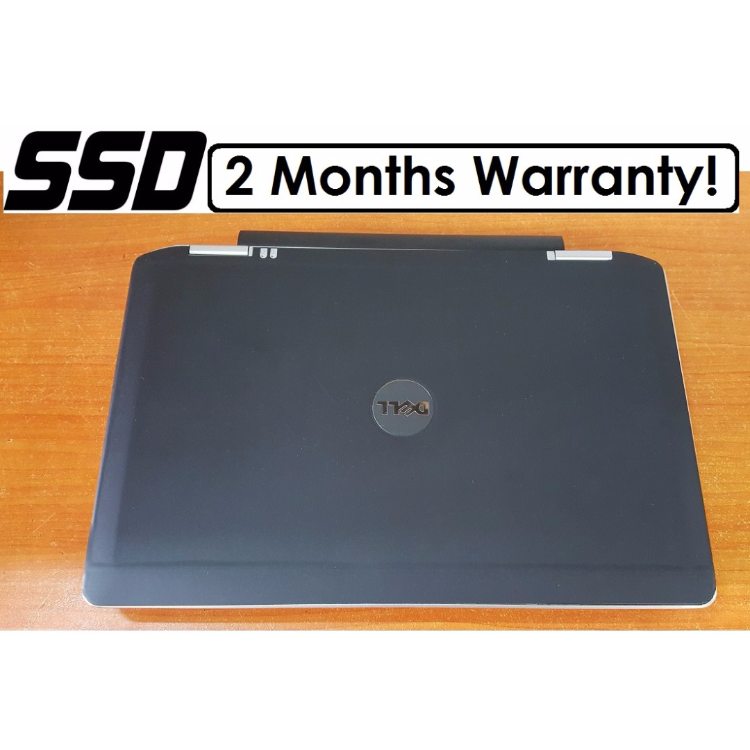 [SSD Core I7 Gen3 Laptop] Dell Latitude E6330: High Clock Speed up to  3 7Ghz!