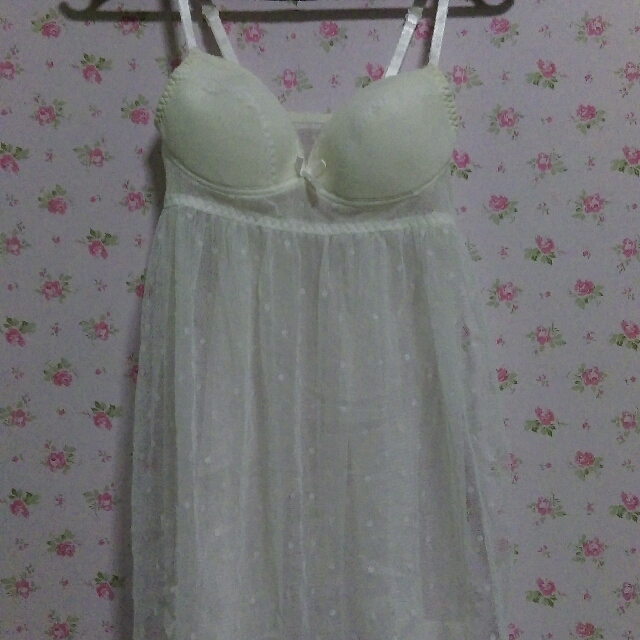 St.Ives White sexy lingerie