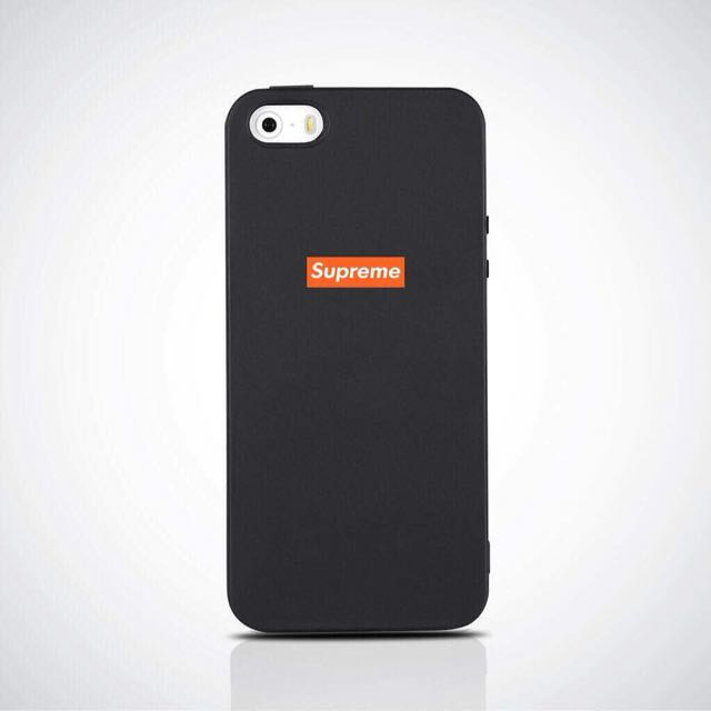 SUPREME PRINTED SOFT MATTE CASE