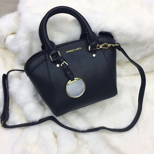 Tas Charles Keith Small City Bag Original Ovale Womens Fashion Bags Wallets On Carousell