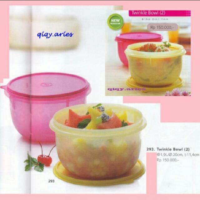 Tupperware Twinkle Bowl (2)