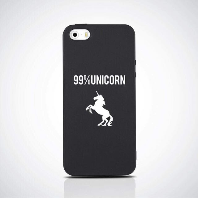 UNICORN SOFT MATTE CASE