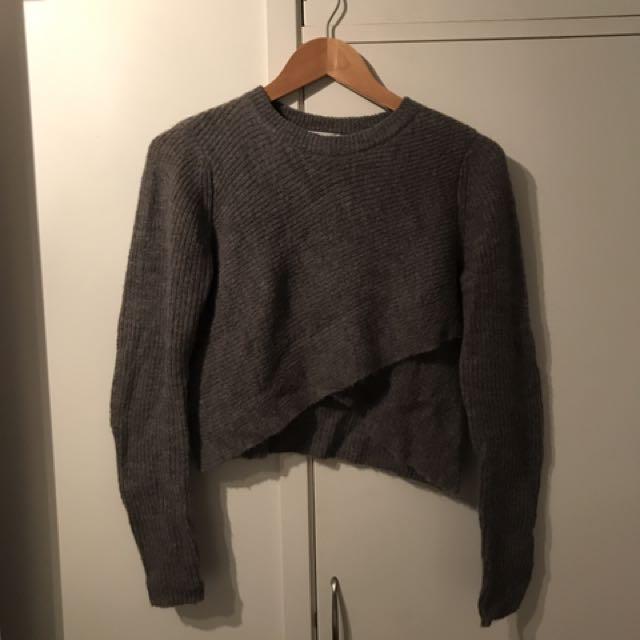 Veronika Maine Grey Knit