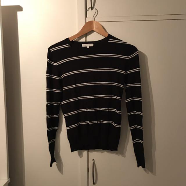 Veronika Maine Striped Knit