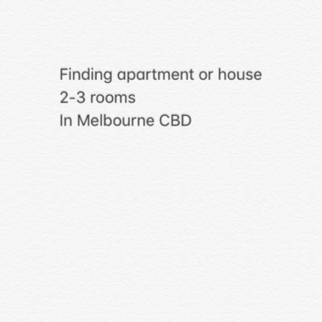 Want to find a apartment
