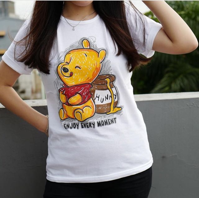 948a99e297b8 Winnie the pooh tee, Women's Fashion, Clothes, Tops on Carousell
