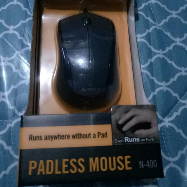 padless mouse