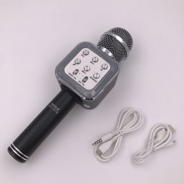 WSTER BLUETOOTH MICROPHONE WS-1818