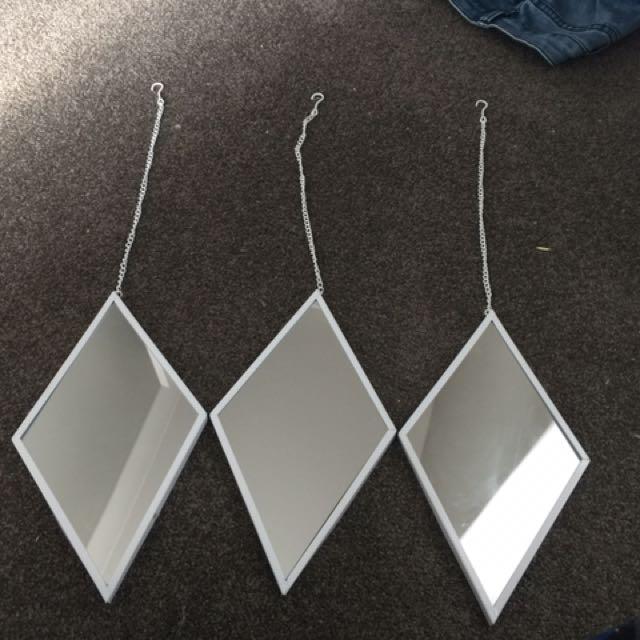 X3 Dimond mirrors