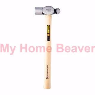 BN Stanley Wood Handle 1.5 lb Ball Pein Hammer
