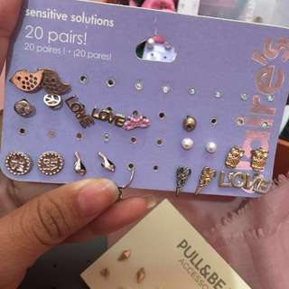 anting Claire's & River island