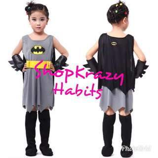 Batman For Girls Costume