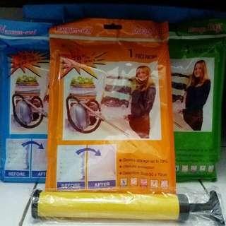 vacuum storage bag n pump