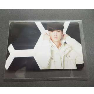 EXO // COMING OVER JAPAN SINGLE  PHOTOCARD - LAY (YIXING)