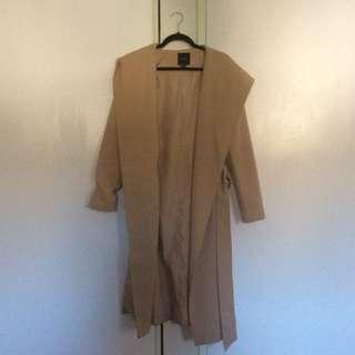 Forever 21 Long Hooded Robe Jacket