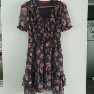Edc (Espirit) Floral Dress