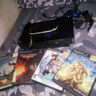Playstation 2 and PSP bundle