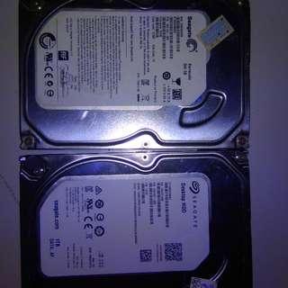 Seagate Desktop HDD 1 TB (New)