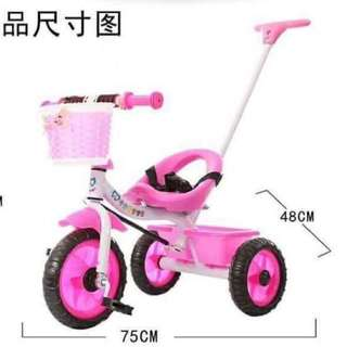 Three wheels bike for toddler kids