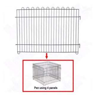 Pets play pens (36 inch x 24.5 inch) - 5 pieces