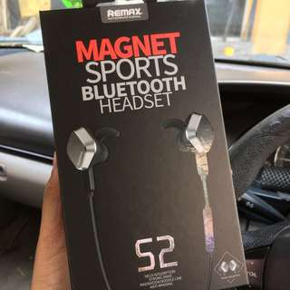 Original Remax S2 Magnet Sport Bluetooth Headset