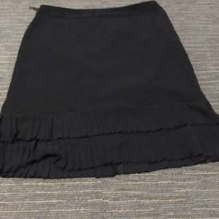 Witchery 14 black skirt
