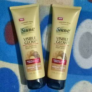 """Suave Visible Glow """"Self Tanning Body Lotion"""" 221ml (AUTHENTIC US product)"""