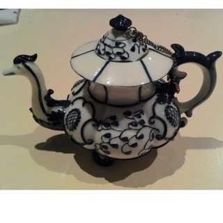 Nini Collectible Hand Painted Miniature Teapot