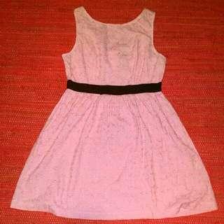 Dangerfield pink lace dress