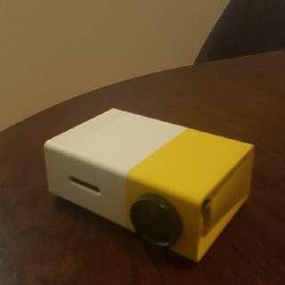 Miniature projector, 240p