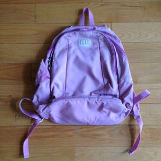 Pink medium backpack