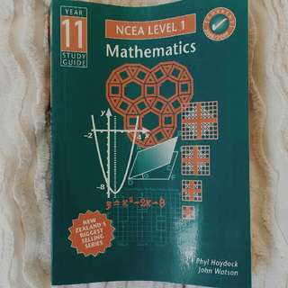 NCEA Level 1 Mathematics Study Guide