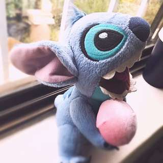 Stitch official Disney Plushie with icecream