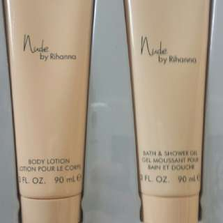 Rihanna Nude Body Lotion & Body Gel