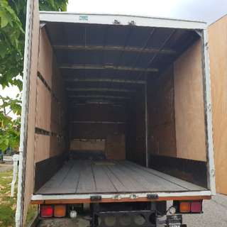 cheap mover services with 14 / 24ft truck