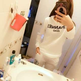 (實穿)chanel 休閒套裝