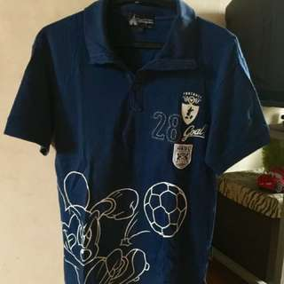 Mickey Mouse Polo Shirt [bought in HK]