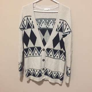 Garage cardigan sweater