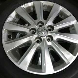 WISH 輪胎15吋