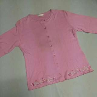 REPRICED Marks And Spencer Pink Floral Cardigan