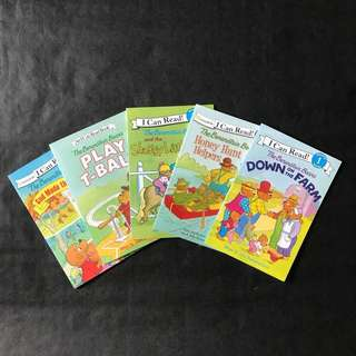 💥{NEW} An I can read level 1 children books: The Berenstain Bears Series