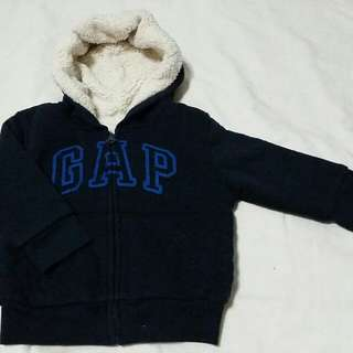 [NEW] GAP Baby Jacket With Hoodie