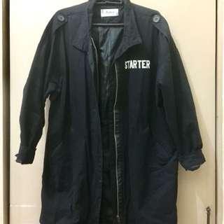 Oversized Black Korean Jacket