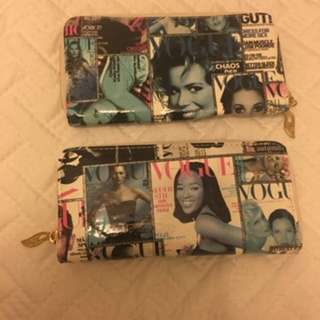 Vogue Collage Wallets