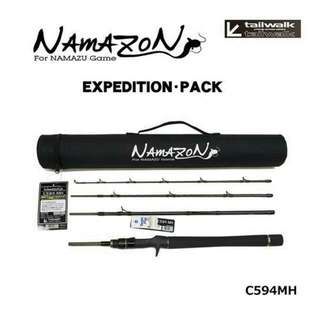 Tailwalk Namazon Mobile (Expedition Pack) Travel Rod