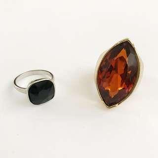 寶石戒指兩枚